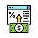 Electronic Deposit Color Icon