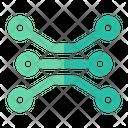 Electronic Circuit Technology Icon