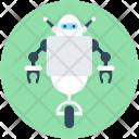 Electronic Robot Machinery Icon