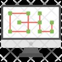 Electronic Blueprint Icon