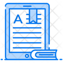 Electronic Book Online Journal Online Article Icon