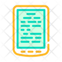 Electronic Read Book Icon