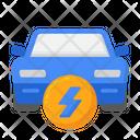 Electronic Car Electric Car Smart Car Icon