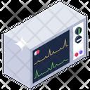 Electronic Cardiogram Cardiology Electrocardiogram Icon