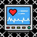 Monitor Life Pulse Icon