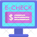 Electronic Check Icon
