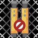 Electronic Cigarette Vaping No Smoking Icon