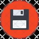 Floppy Electronic Floppy Disc Data Disk Icon