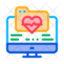 Electronic Health Card Icon