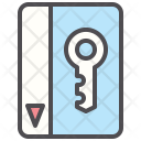 Electronic Key pass Icon