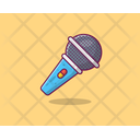 Electronic Mic Recording Microphone Microphone Icon