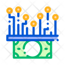 Electronic Money Cash Icon