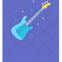 Electronic Music Guitar Icon