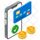Electronic Payment Mobile Payment Ecommerce Icon