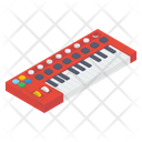 Electronic Piano Piano Keyboard Musical Instrument Icon