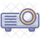 Electronic Projector Icon