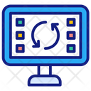 Electronic Recycling Icon