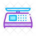 Digital Display Scale Icon