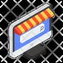 Electronic Shop Online Shop Online Store Icon