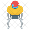 Electronic Spider Robot Icon