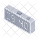 Electronic Watch Clock Time Icon