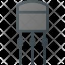 Electronics Transistor Science Icon