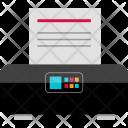 Electronics Printer Hp Icon