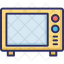 Kitchen Appliance Microwave Oven Icon