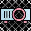 Electronics Movie Projector Multimedia Icon