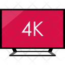 Electronics K Tv Icon