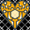 Electronics heart Icon