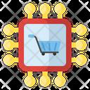 Electronics Shopping Shopping Technology Digital Shopping Icon