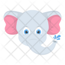 Baby Elephant Safari Icon
