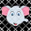 Elephant Wild Animal Icon