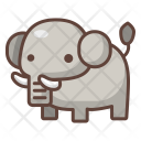 Elephant Animal Wild Icon