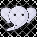 Elephant Animals Toys Icon