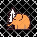 Elephant Mammal Wildlife Icon
