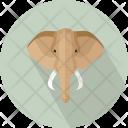 Elephant Head Large Icon