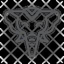 Elephant Zoo Wildlife Icon