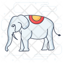 Elephant Animal Elephant Face Icon
