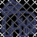 Elephant Wild Zoo Icon