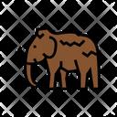 Mammoth Animal Color Icon