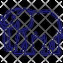 Elephant Proboscidea Mammoths Icon