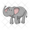 Elephant Mammal Animal Icon