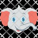 Elephant Forest Wild Icon