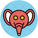 Elephant Pachyderm Mammal Icon
