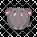 Elephant Animal Icon