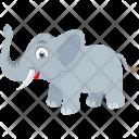 Elephant Animal Zoo Icon