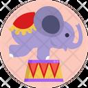 Carnival Entertainment Circus Icon