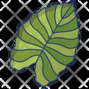 Elephant Ear Leaf Icon
